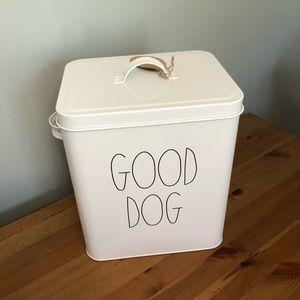 Rae Dunn Pet Food Holder